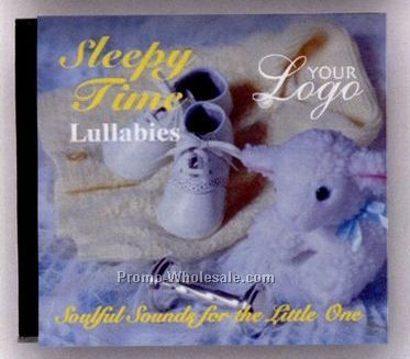 Sleepy Time Lullabies Music CD