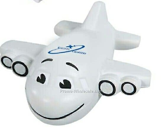Smiley Plane Stress Reliever (1 Day Rush)