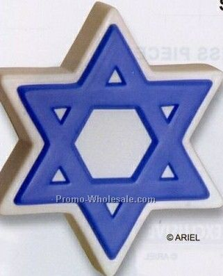 Star Of David Squeeze Toy