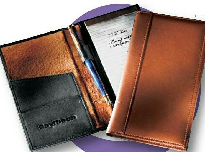 Synthetic Leather Secretary Jotter Case