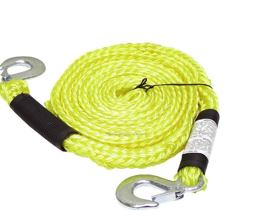 Tow Rope With Locking Hooks (Blank)