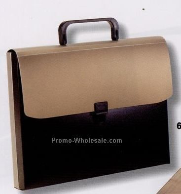 "2-part Attache Case With 12""x9-1/2"" Pockets"