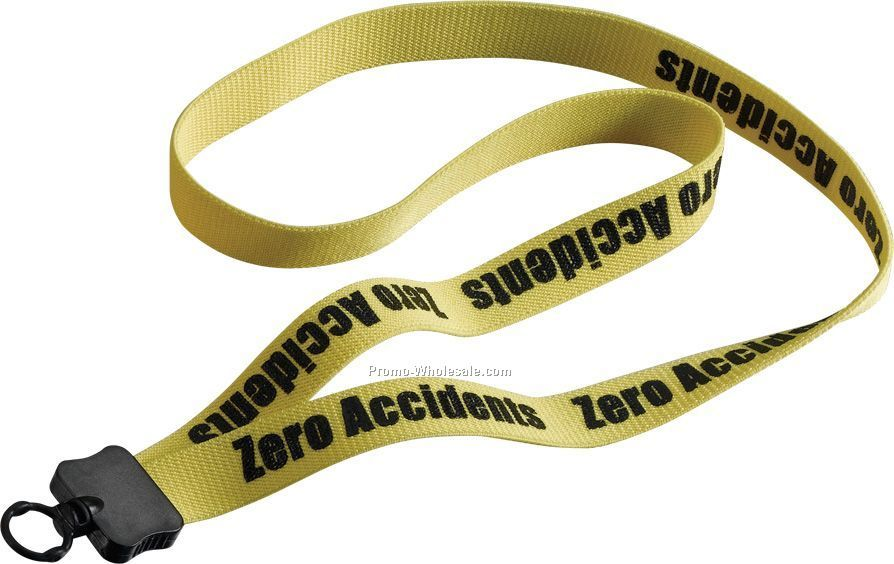 "3/4"" Stretchy Elastic Lanyard With O-ring"