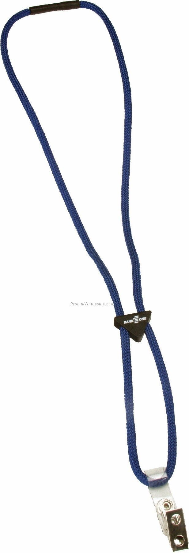 "3/8"" Sport Cord Lanyards With Triangle Slider"