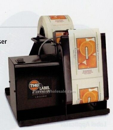 "5"" (127mm) Wide Electric High Speed Label Dispenser"