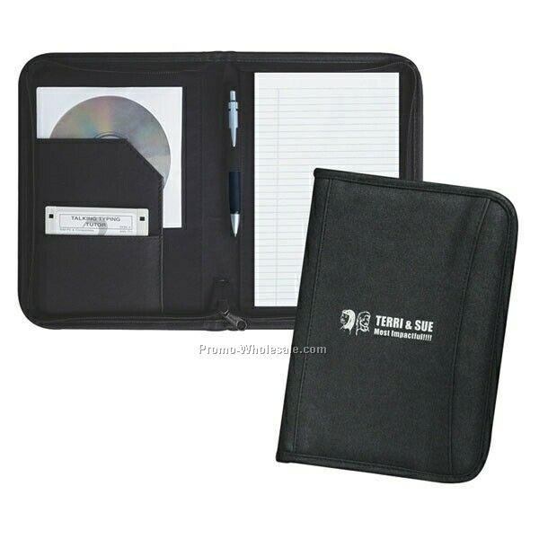 "7""x9-1/2""x3/4"" Junior Padfolio (Not Imprinted)"