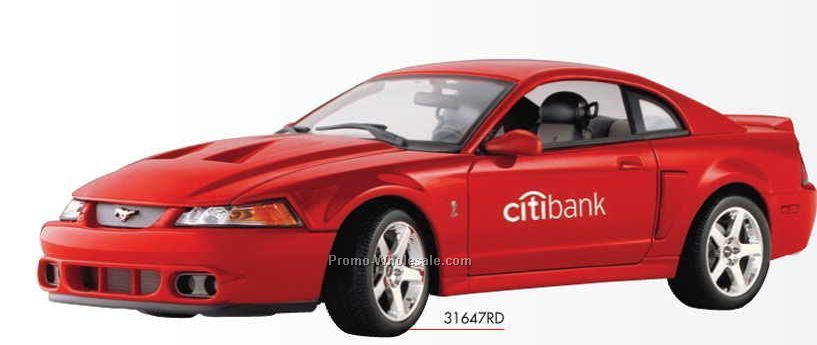 "9"" 2003 Ford Svt Mustang Cobra Coupe Die Cast Replica Vehicle"