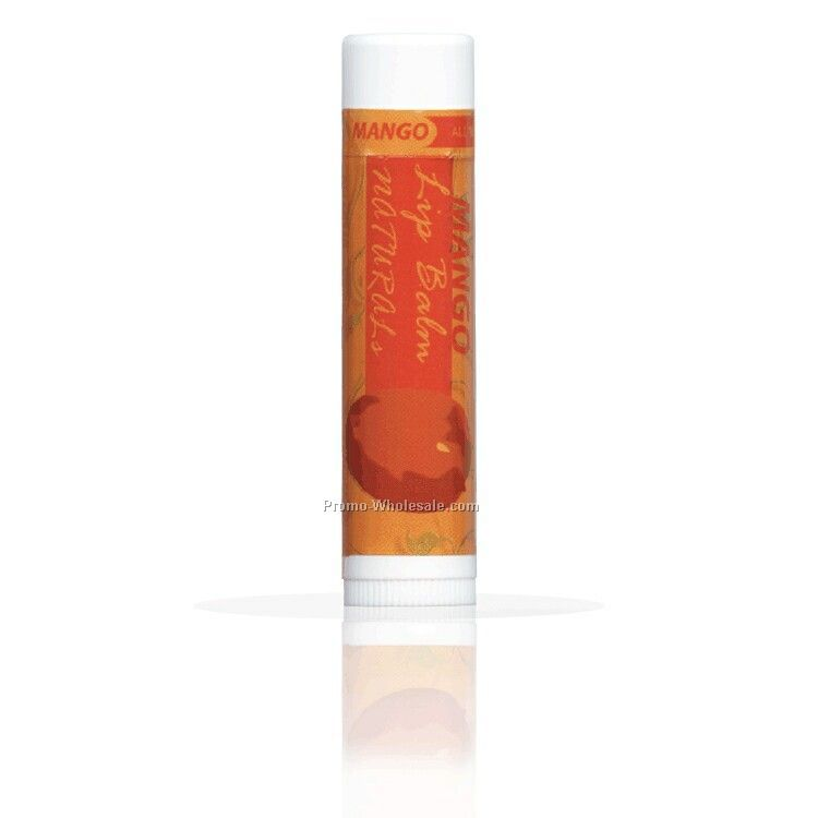 All Natural Mango Lip Balm With Custom Label