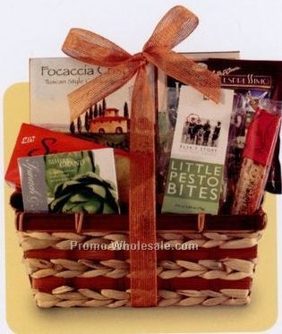 Business Classics Taste Of Tuscany Gift Basket