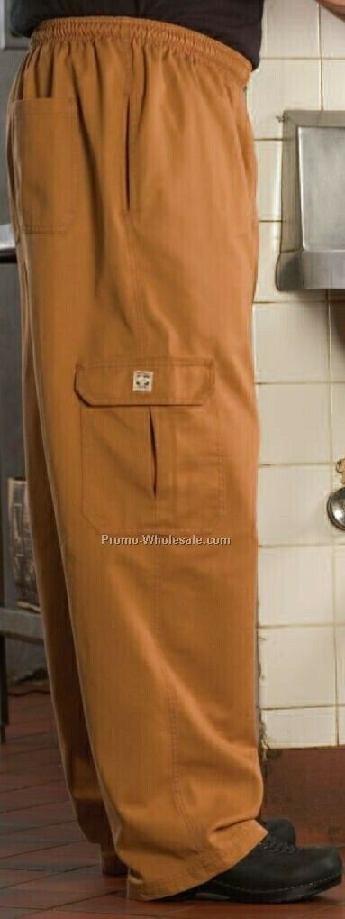 Cargo Chef Pants (Medium/ Slate Blue)