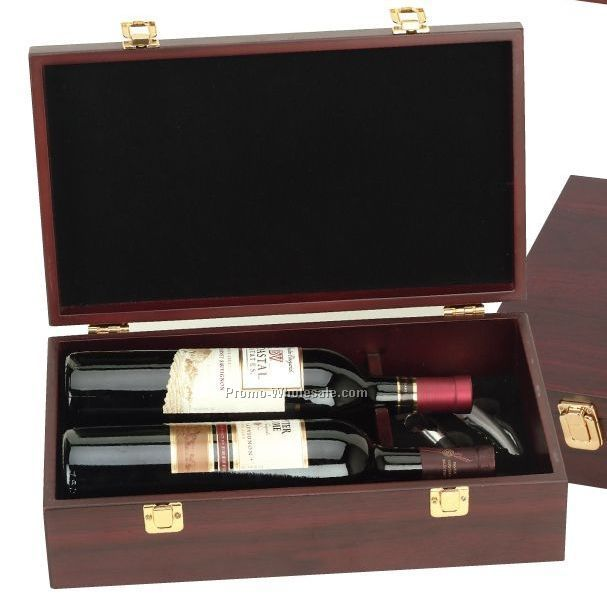 Deluxe Double Bottle Riesling Wine Set