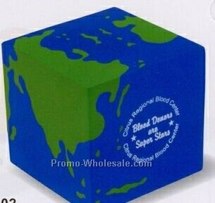 Earth Cube Squeeze Toy