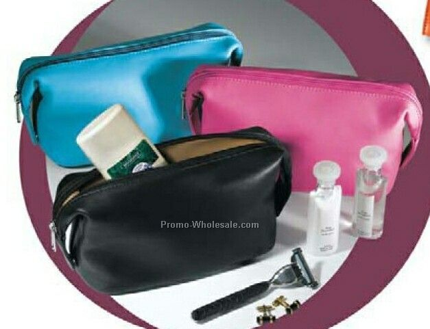 "Florentine Napa Leather Accessories/ Valuables Pouch (4""x9-3/4""x3-3/4"")"