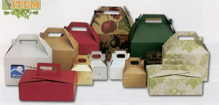 Gable & Stackable Boxes