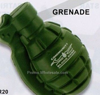Grenade Squeeze Toy