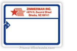 Jumbo Ups Blue To Arrow Roll Mailing Labels (Blank)