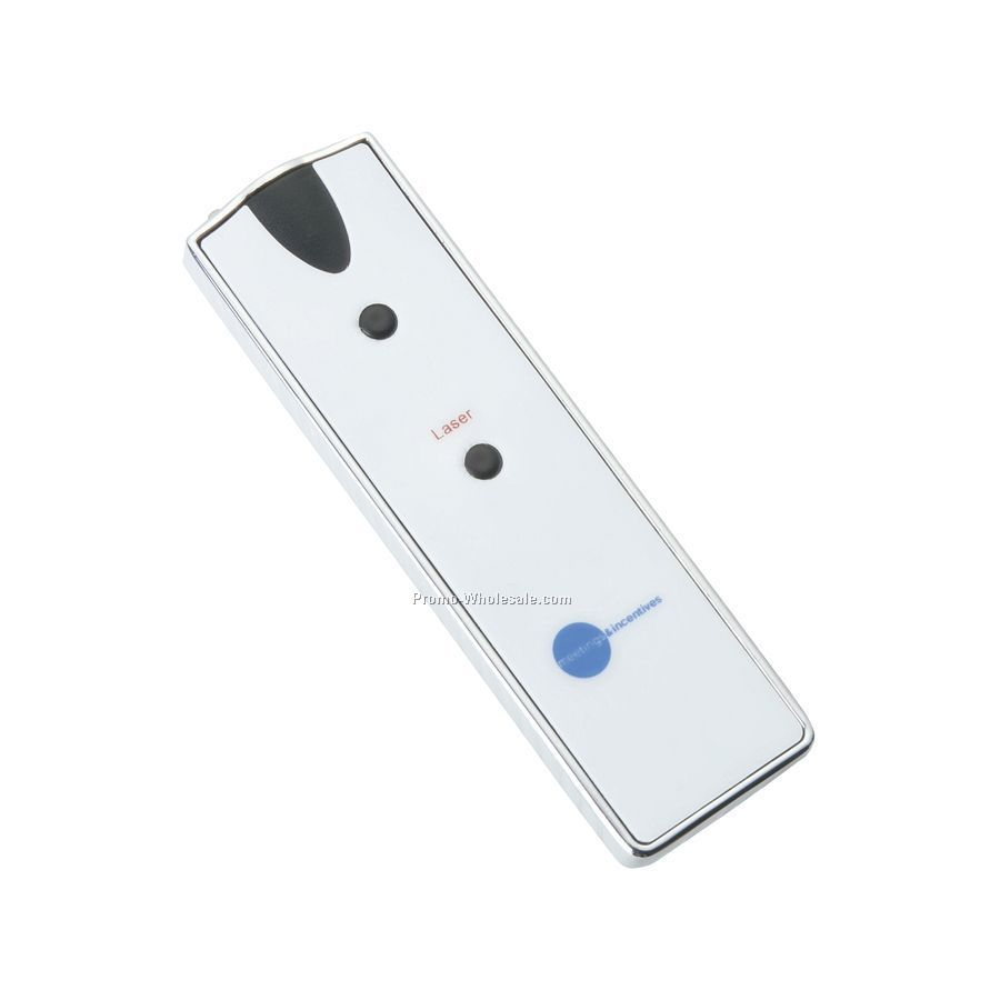 Laser Pointer With LED Light
