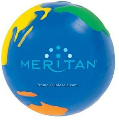Multi Color Globall Stress Reliever (1 Day Rush)