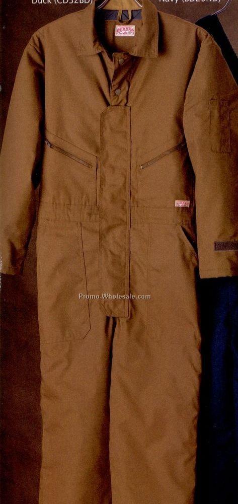 Red Kap Men's Duck Insulated Coverall (S-xl)