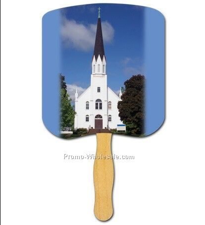 Religious Hand Fan/Church-religious