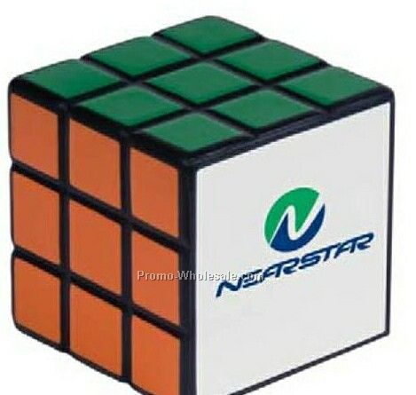 Rubik's Cube Stress Reliever (1 Day Rush)