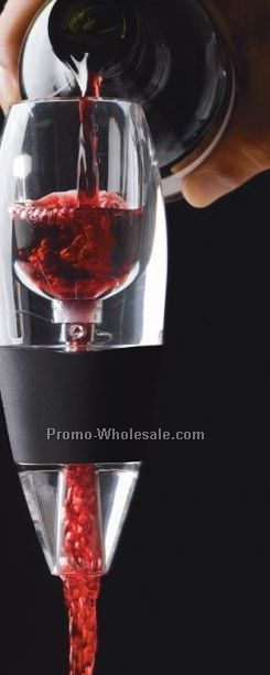 Screen Printed Vinturi Wine Aerater