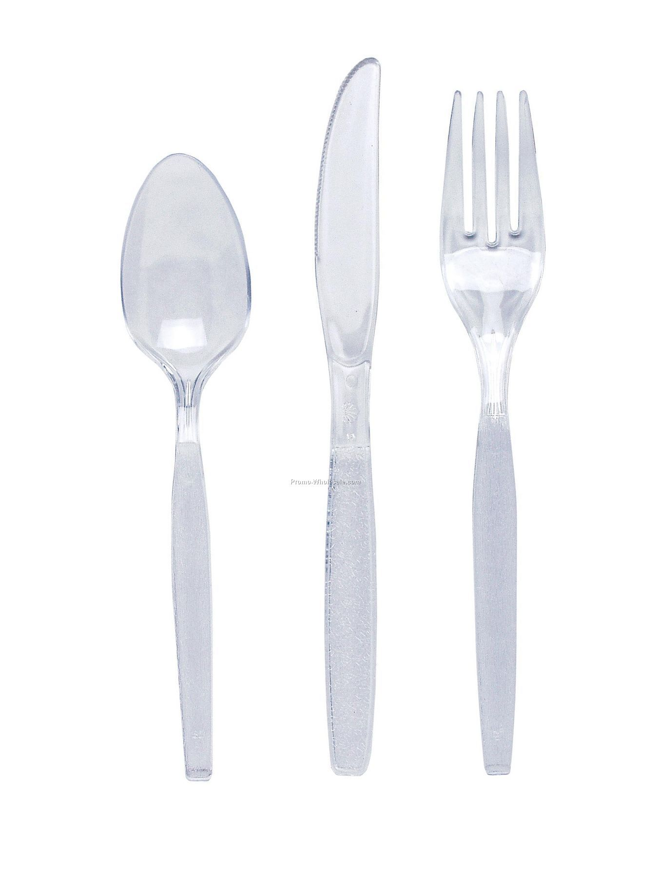 Silver Gray/ Shimmering Silver Colorware Plastic Spoon
