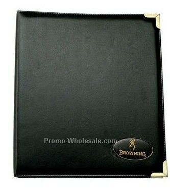 "Simulated Leather Presidential Series Ring Binder - 1-1/2"" Ring"