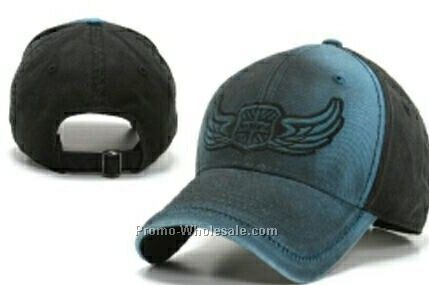 Stock Cap With Wing Design
