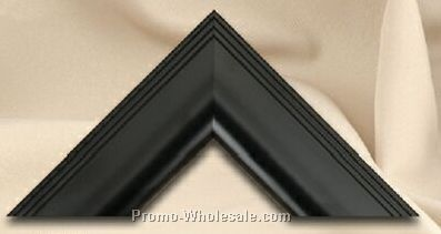 "Stock Profile Wide Beveled Frame - Black (8-1/2""x11"")"