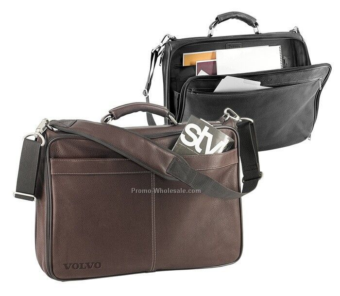 The Vip - Leather Briefcase