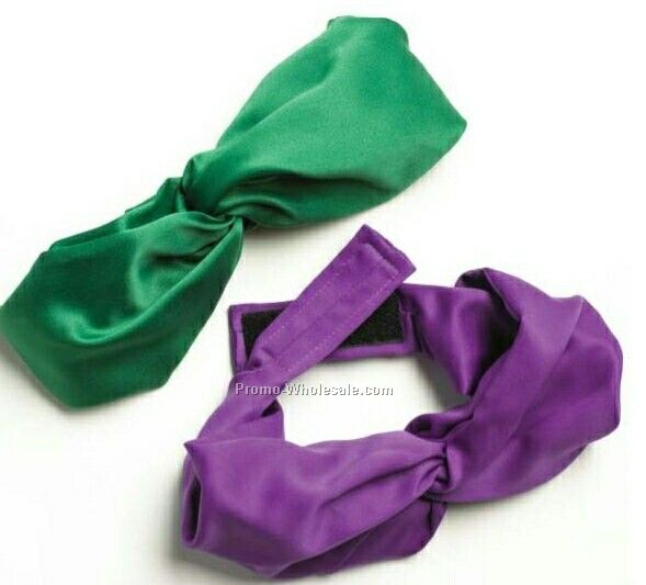 Wolfmark Solid Series Polyester Velcro Band Knot Scarf - Kelly Green
