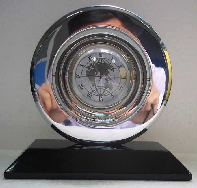 Promotional global gyro clock